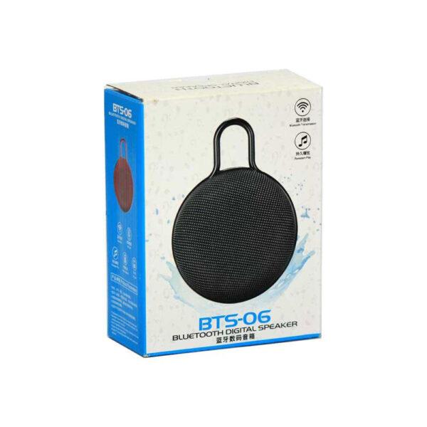اسپیکر بلوتوثی طرح قفل BTS-06