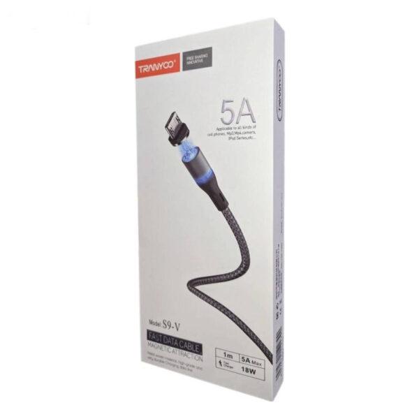 کابل تبدیل USB به Micro ترانیو مدل s9-v